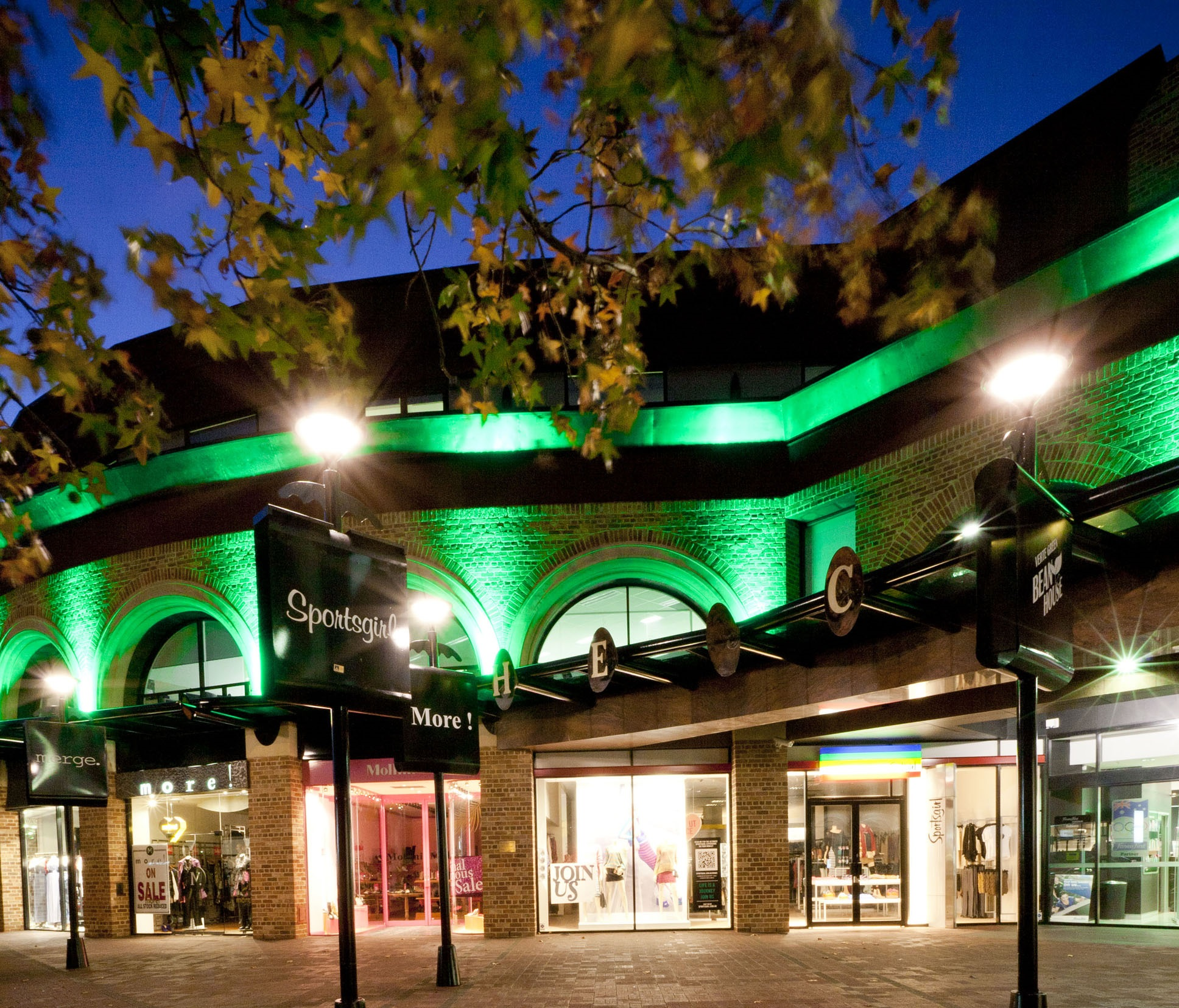 Perth Turns Green To Welcome WICKED