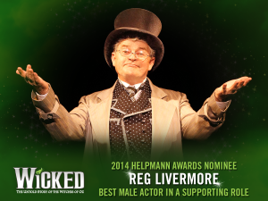 WICKED  Helpmann Awards 2014  Nominations